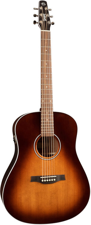 Seagull Maritime SWS Mahogany Burnt Umber Gloss Top QIT: Solid Top and Back
