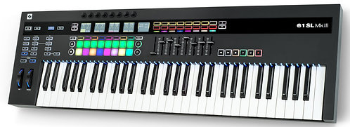 Novation 61SL MKIII: MIDI and CV Keyboard Controller with Sequencer