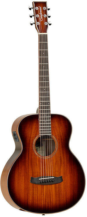 Tanglewood WINTERLEAF KOA Travel Size Acoustic Electric