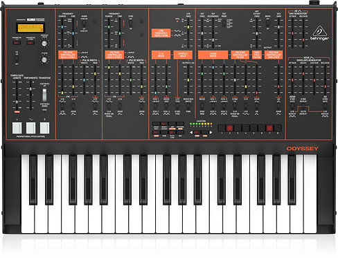 Behringer ODYSSEY Analog Synthesizer with 37 Full-Size Keys, Dual VCOs