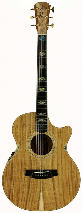 Cole Clark Angel 3:Blackwood top, back and sides