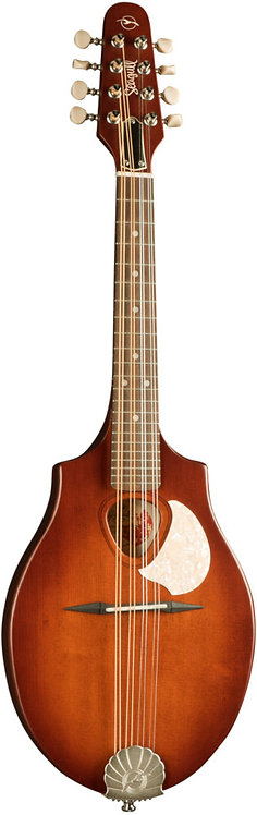 Seagull S8 Mandolin Burnt Umber: Solid Sitka Spruce Top, Maple Neck Through