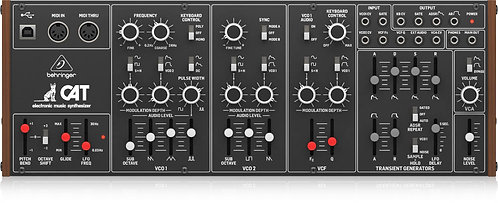Behringer CAT Legendary Duophonic Analog Synthesizer with Dual VCOs