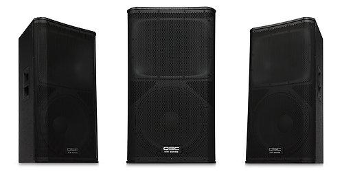 """QSC KW152 15""""1000 Watt Active Loudspeaker"""
