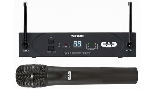CAD WX1600 WIRELESS HANDHELD MICROPHONE SYSTEM