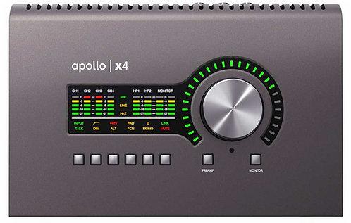 UA Apollo x4 Thunderbolt 3 Audio Interface (Desktop/Mac/Win)