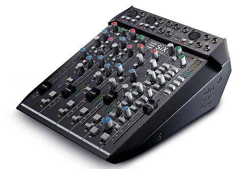 SSL SIX: Two Channel Mono, Two Channel Stereo, Analog Desktop Mixer