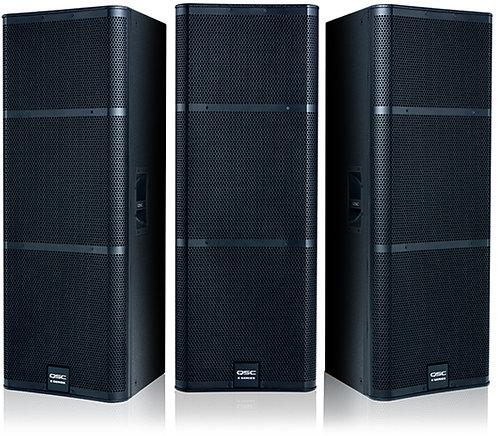 "QSC E215 Dual 15"" 2-way, passive loudspeaker"