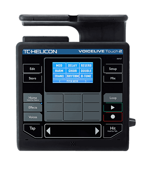 TC-Helicon VOICELIVE TOUCH 2: Powerful Touch Matrix Mic Stand-Mount Vocal Effect