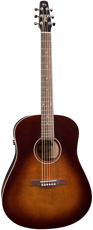 Seagull S6 ORIGINAL BURNT UMBER QIT: A/E SOLID SPRUCE Top