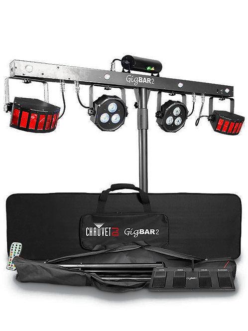 Chauvet GigBAR 2: ultimate pack-n-go 4-in-1 lighting system