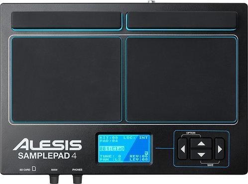 ALESIS SamplePad 4 4-Pad Sample/Loop Player with 25 Built-In Sounds