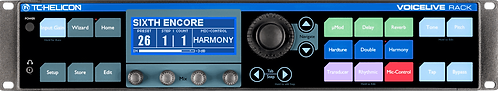 TC-Helicon VOICELIVE RACK: Breakthrough Rackmount Vocal Effects Processor