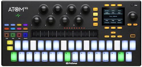 PreSonus ATOM SQ: Hybrid MIDI Keyboard / Pad Performance and Production Controll