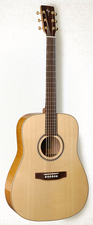 Simon & Patrick Showcase - Flame Maple   with Rosewood fingerboard