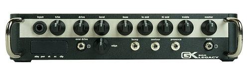 GK Legacy 500  500 watt ultralight head, switch mode power amp, analog preamp
