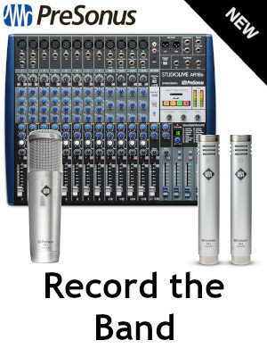 Presonus Record the Band Bundle