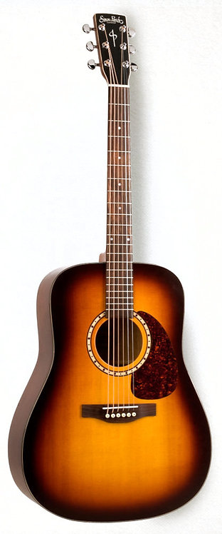 Simon & Patrick Songsmith Solid Spruce W/ Cherry Back and Sides