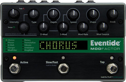 Eventide ModFactor: Chorus, Flanger, Phaser as well as Rotary, Tremolo, and Vib