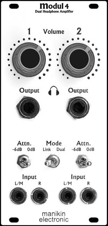 Manikin modul 4: Dual Headphone Amplifier