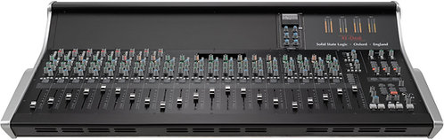 SSL XL-Desk: 24 into 8 analogue console W/ 16 500 series Slots