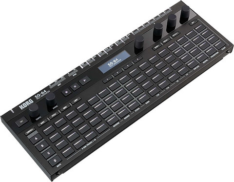 Korg SQ-64: Incredibly powerful and compact Polyphonic Step Sequencer