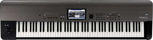 KORG KROME EX 88  Krome with New Sounds and PCM - 88-key