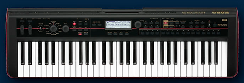 Korg KROSS 2 61  Performance Synth/Workstation