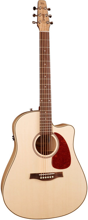 Seagull Performer Cutaway Flame Maple QIT: Solid Spruce Tops Flame Maple Back