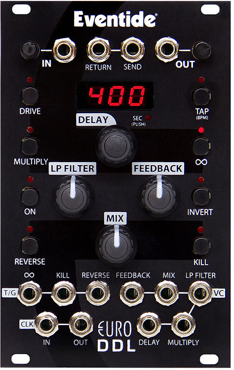 EuroDDL: A Digital Delay with an Analog Soul for Eurorack