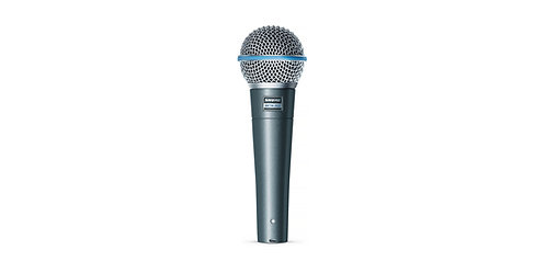 Shure BETA 58A: high-output supercardioid dynamic vocal microphone
