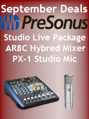 PreSonus Studio Live Package