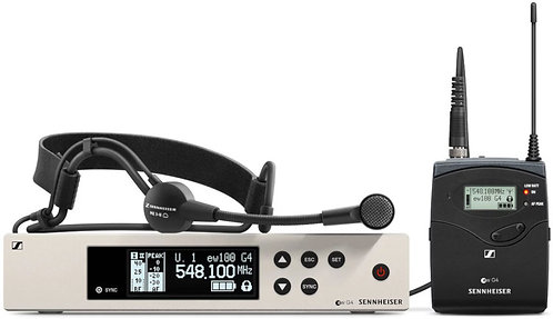 Sennheiser EW 100 G4-ME3 Wireless Headset Mic System