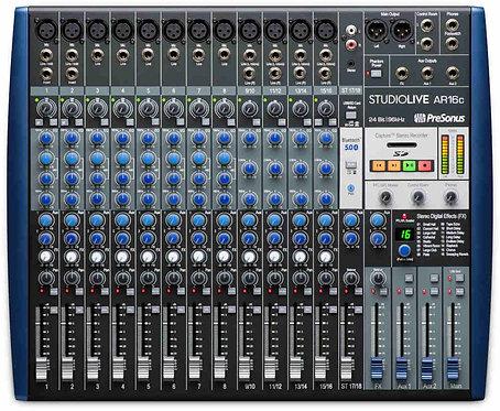 PreSonus StudioLive AR16c  StudioLive®AR16 18-channel hybrid Mixer