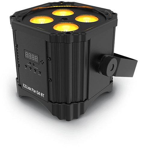 Chauvet EZLink Par Q4BT: 100% wireless quad-color (RGBA) LED Par fixture