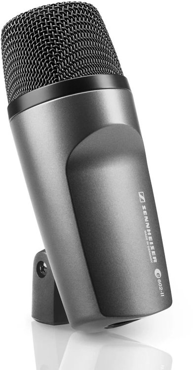 Sennheiser e 602-II Cardioid instrument microphone for bass drums, bass guitar