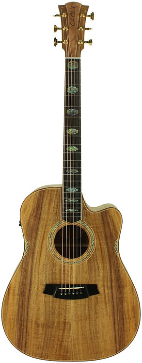 Cole Clark Fat Lady 3: Blackwood top with Blackwood back and sides