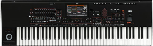Korg Pa4X 76 76-Key Professional Arranger with Color Touch Screen, TC Helicon FX