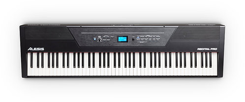 Alesis Recital Pro - 88-Key, Hammer-Action Digital Piano with 12 Sounds