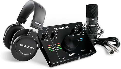 M Audio AIR 192|4 VOCAL STUDIO PRO Complete Vocal Production Package