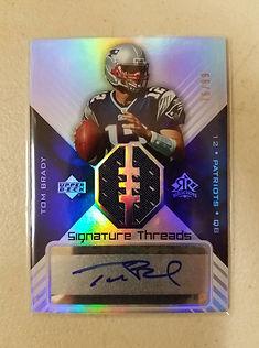 Sports Cards, Tom Brady