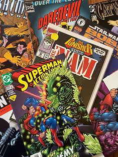 Comics,Marvel,DC
