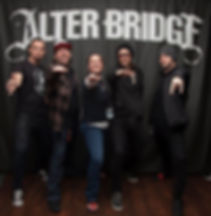 Gemma and Alter Bridge in Warrior II pose