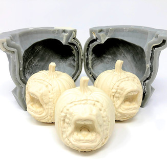Design & fabrication of 3D printed mold, hybrid mold (soft rubber + hard resin shell), & mold of mold for casting the final mold in various specialty materials. For example, silicone for complex details or plaster for slip casting.