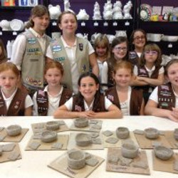 scouts wet clay