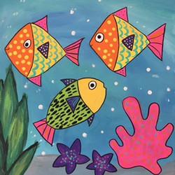 canvas fish sm image