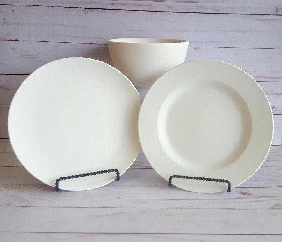 $18 pkg plate bowl