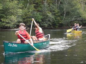 Eat. Sleep. Canoeing. Repeat.