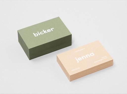 Inspiración para diseños de tarjetas de presentación