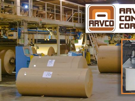 ARVCO Kalamazoo, Michigan Continues its Investment in Agnati's Corrugating Machinery.